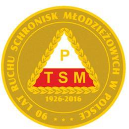 Pamiątkowy medal z okazji 90 lat Ruchu Schronisk Młodzieżowych w Polsce.